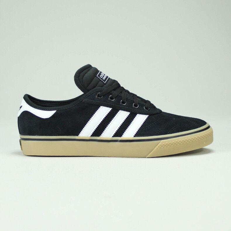 Adidas Adi-Ease Skate Baskets Noir/Blanc/Gomme Taille UK 7,8,9,10,11,12-m UK Taille 7,8,9,10,11,12