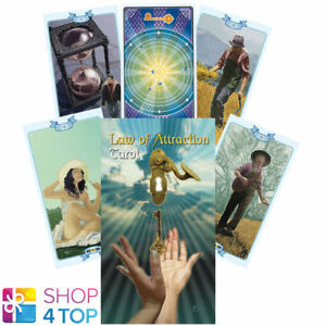 LAW-OF-ATTRACTION-TAROT-DECK-KARTEN-ROVED-ESOTERIC-FORTUNE-LO-SCARABEO-NEU