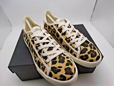 Coach C136 Low Top Sneaker With Leopard