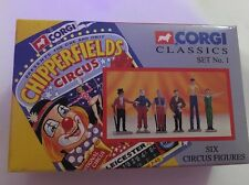 Corgi Clásicos Set 1 No.1 Chipperfields Circus seis figuras de circo