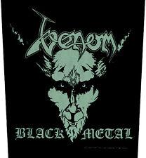 VENOM - Rückenaufnäher Black Metal Backpatch neu