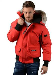 Canada-Goose-Jacket-Mens-Chilliwack-Bomber-Jacket-in-Red