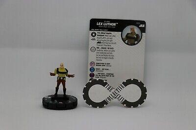 Heroclix Justice League set Lex Luthor #008 Common figure w//card!