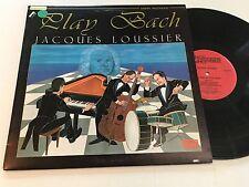 JACQUES LOUSSIER NM Play Bach Andre Arpino Vincent Charbonnier WWLP-21028 vinyl