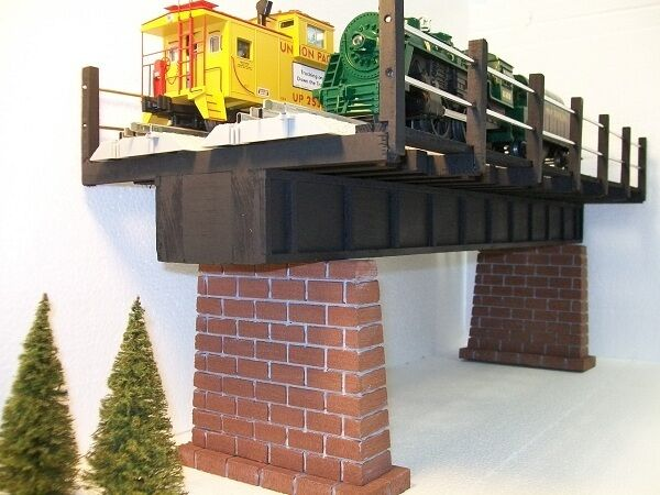 FerroCocheril de doble vía Puente de Vigas o Calibre Maqueta De Tren trenes