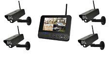 Comag 4 Funk digitale Kamera Überwachungsset IP Funktion App Videosystem Monitor