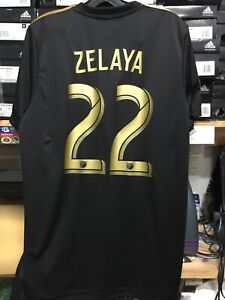 665373e1f48 Adidas LAFC HOME JERSEY 2019 Authentic Jersey  22 Fito Zelaya Size ...