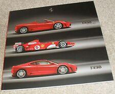 FERRARI F430 Coupe & SPIDER BROCHURE BOOK 2005-2007 - Inglese & TESTO ITALIANO