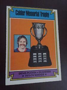 1974-75O-Pee-Chee-Denis-Potvin-252-New-York-Islanders-Calder-Trophy-Rookie-Card