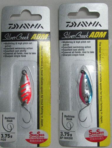 DAIWA Siver Creek ADM 3.75g Trout spoon