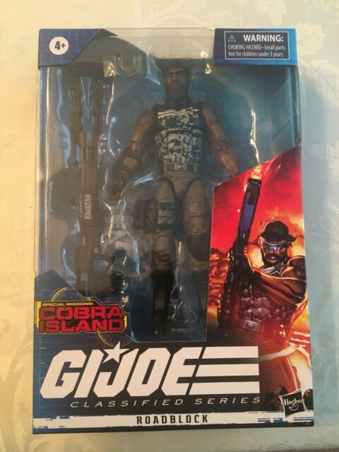 G.I. Joe Classified Series Cobra Island ROADBLOCK Target Exclusive SEALED