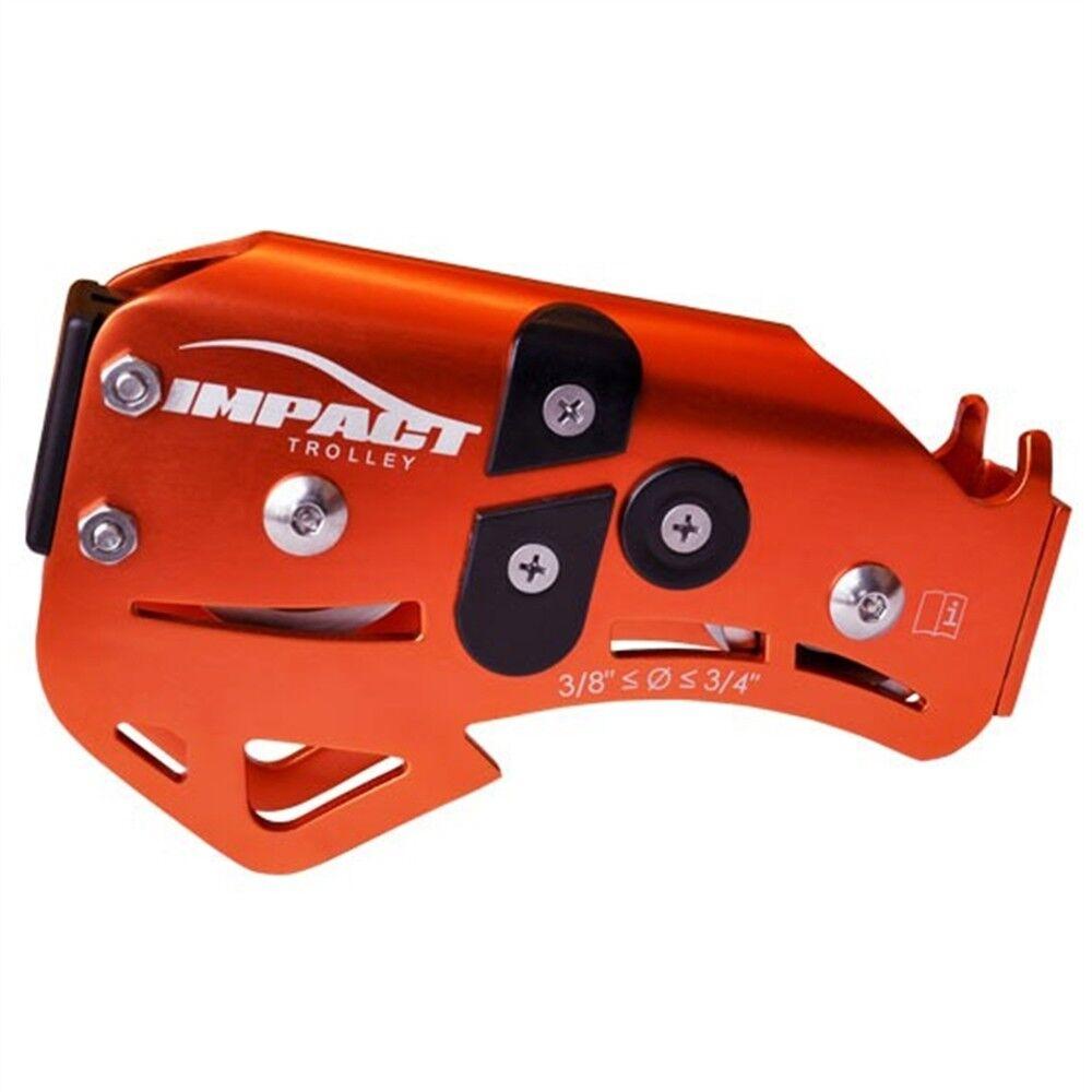 LightSpeed Impact ZipLine Trolley orange Made in USA