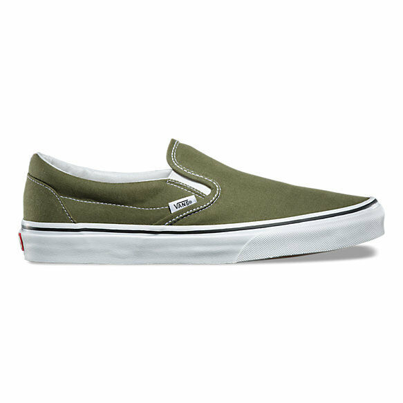 Vans Classic Slip-On Winter 7.5 Moss Skate Shoes Men's Size 7.5 Winter $75 afc0ca