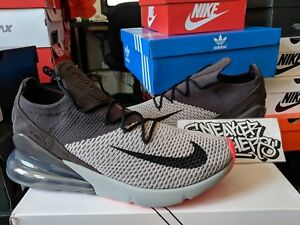 reputable site ea461 7c45b Details about Nike Air Max 270 Flyknit Atmosphere Grey Hyper Punch Thunder  Running AO1023-004