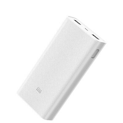 Xiaomi Mi Power Bank 2 20000 Mah Plm05Zm Dual Usb Port Charger For Apple Samsung
