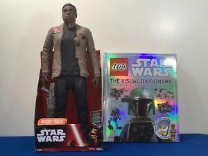 Star-Wars-Jakks-Big-Figs-Episode-VII-18-034-Finn-amp-LEGO-visual-dictionary-New
