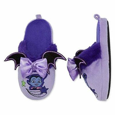6a959ff36f7ab Disney Collection Vampirina Slippers Purple Slipper Shoes Toddler Girl Size  5-6   eBay