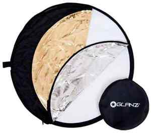 Glanz 5 in 1 Reflector - 110cm - to create soft fill light
