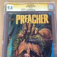 Preacher #5 CGC 9.8 SS x Ennis 1st Si Coltrane John Tool Paul Bridges 1 8 13 21