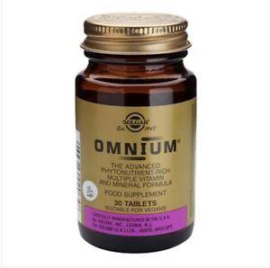 Solgar-Omnium-Phytonutrient-Rich-Multi-Nutrient-Food-Supplement-30-Tablets