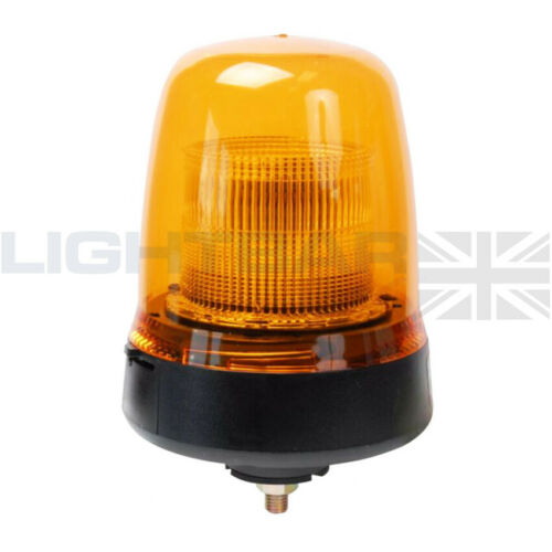 Britax Single Bolt Mount Agriculture Plant LED B91 Strobe Flashing Amber Beacon