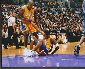 SHAQUILLE-O-039-NEAL-LSU-LOS-ANGELES-LA-LAKERS-KOBE-BRYANT-OLYMPICS-8-X-10-PHOTO-6
