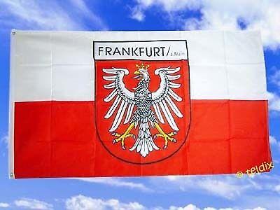 Fahne Flaggen FRANKFURT AM MAIN 150x90cm TDShop24