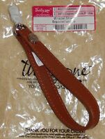Thirty One Gifts Cognac Woods Pebble Wristlet Strap Nip Gorgeous Wow