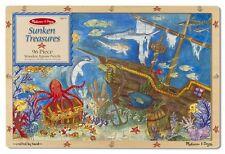 Melissa & Doug Sunken Treasures Wooden Jigsaw Puzzle, 96-Piece for Ages 6+, 2916