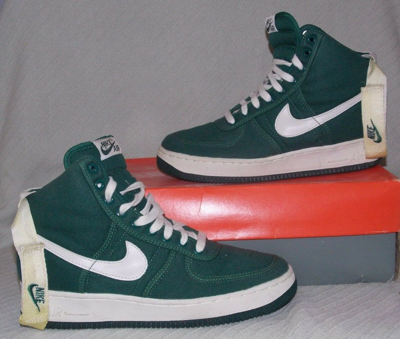 dee6459aa5 30%OFF Nike Air Force 1 High CVS SC 630098 311 Evergreen/White Athletic