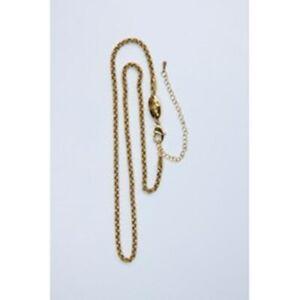 MAGNETIX-Halskette-4879-Gliederhalskette-Goldfarben-M-XL-3mm-Magnetschmuck