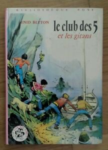 BR-LE-CLUB-DES-5-ET-LES-GITANS-Enid-Blyton-1974-club-des-cinq