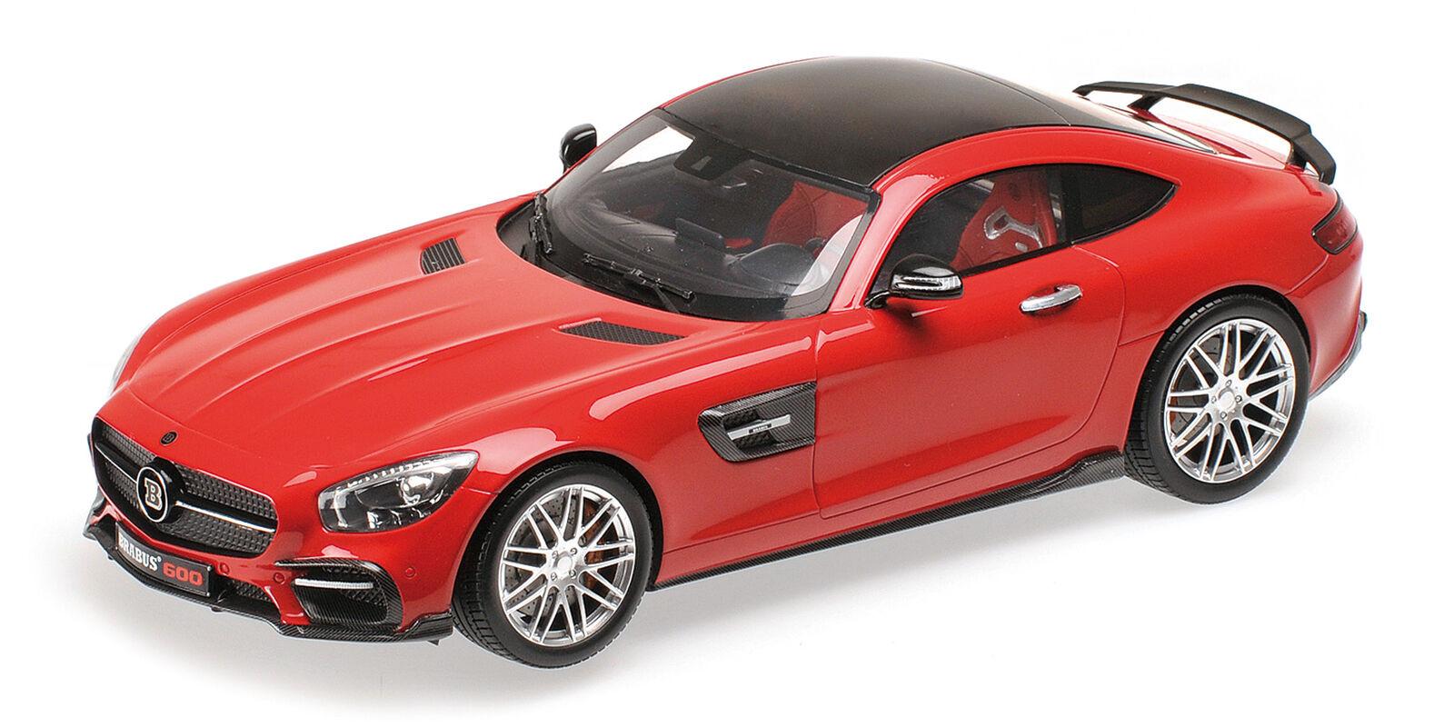 Minichamps BRABUS 600 (Basis Mercedes AMG GT S) - rot 1 18  | Die Königin Der Qualität