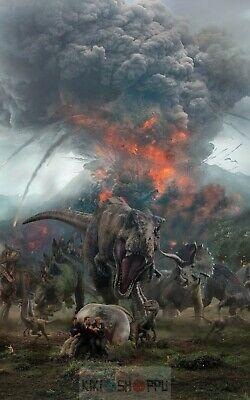 Poster A3 Jurassic World 2 El Reino Caido Fallen Kingdom Pelicula Film Cartel 06