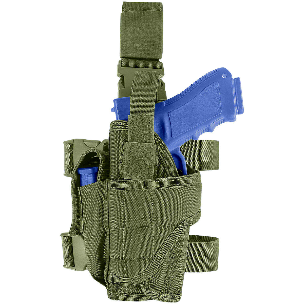 Condor Tactical Lege Holster Linksbedienung Airsoft Military Combat Olive Drab