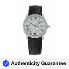 Cartier Ronde Solo Stainless Steel Automatic 36mm Mid-Size Watch WSRN0013