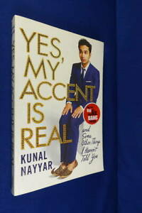 YES MY ACCENT IS REAL Kunal Nayyar RAJ FROM THE BIG BANG THEORY TV SHOW BIO Book