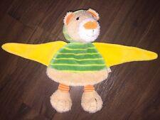 Sterntaler Schmusetuch Kuscheltuch Schnuffeltuch Plüschtier Teddybär Grün Gelb