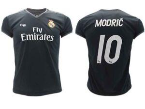 ce8dc4243 Shirt Modric Real Madrid Official 2018 2019 Luka 10 Away Black Adult ...
