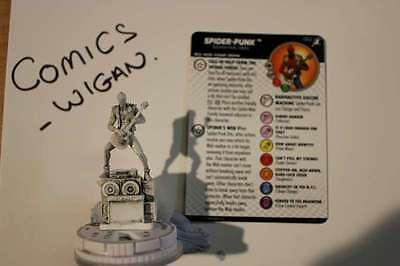 Heroclix Superior Foes Spider-Man#062 Spider-Punk Clix FX Base CHASE SKETCH