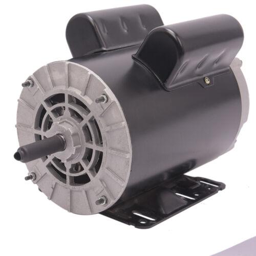 "5 HP SPL 1Phase 3450RPM Electric Air Compressor Duty Motor 56 Frame 5//8/"" Shaft"
