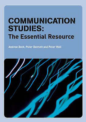 1 of 1 - Communication Studies: The Essential Resource-ExLibrary