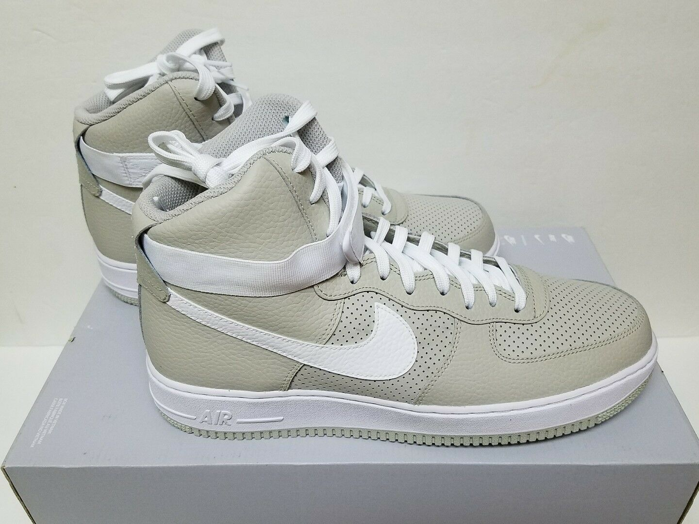 Nike Air Force 1 One '07 High Size 11 & 12-  315121 039 Men's Pale Grey