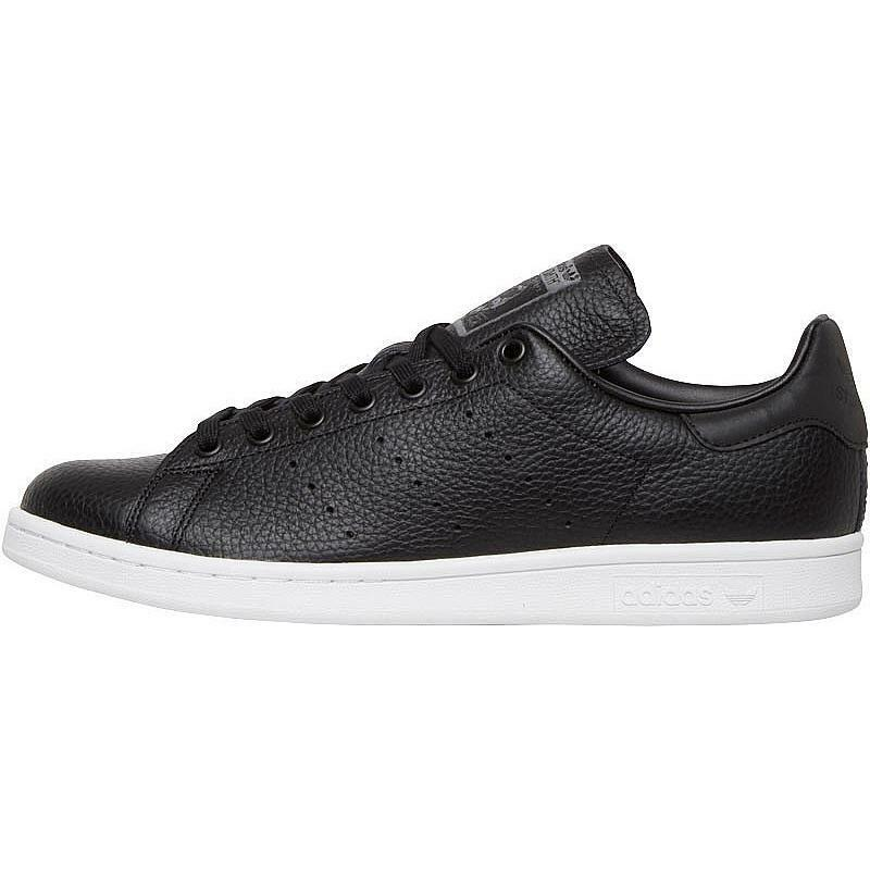 shoes Adidas Stan Smith bb0055 black Pelle Sneakers Ragazzi Unisex Tg.36 Nuovo