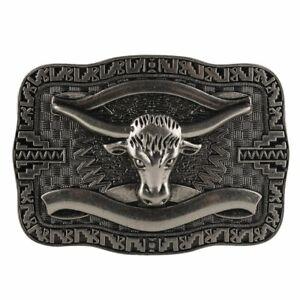 Alloy Men/'s Vintage Western Leather Belt Buckle Metal Accessories Cowboy Fashion