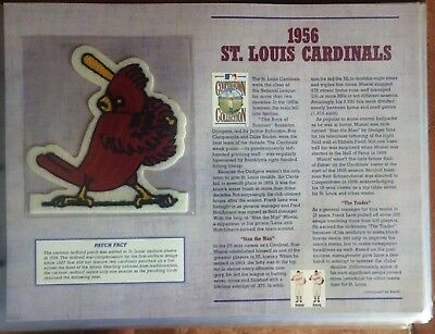 1956 St Louis Cardinals Baseball Team Toppa Cooperstown Collection Willabee Ward