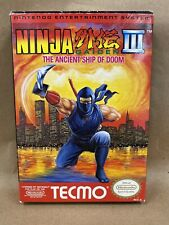 Ninja Gaiden Iii The Ancient Ship Of Doom Nintendo Entertainment