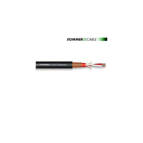 SOMMER CABLE SC-Galileo 238 Microfonkabel microphone cable 1m schwarz 2x0,38mm²