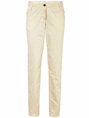 ECRU Chinos corto-Tg Travel Couture By Heine NUOVO!! Pantaloni Kp 59,90 € SALE/%/%