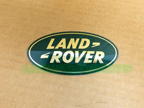GENUINE LAND ROVER FRONT GRILLE NAME PLATE LAND ROVER LR2 LR4 OEM NEW LR002717